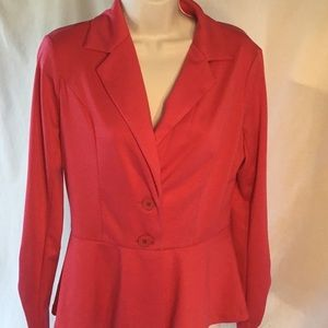 Sunny Leigh Pink Jacket Size 6